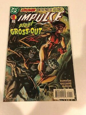 lot of 44 Impulse #1-79 w/gaps VF/NM DC Comics 1997 +2 Annual + Gross-out #1