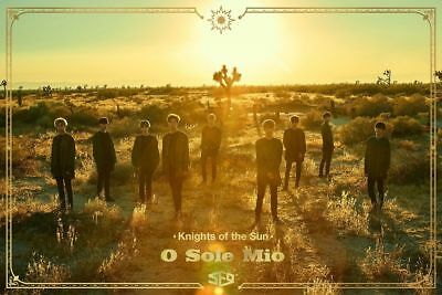 """SJ7shop [SF9] 3rd Mini Album """"KNIGHTS OF THE SUN""""  CD+2PhotoCards+POSTER, SEALED"""