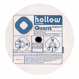 Quant - Funster EP - Hollow Recordings - 2002 #77440