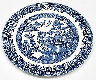 Churchill - Blue Willow - Dinner Plate - Made in Staffordshire, England - A