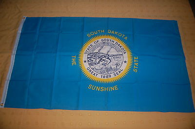 South Dakota Great 1889 Seal The Sunshine State US Bundesstaat Fahne Flagge