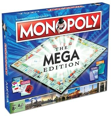 Monopoly - The Mega Edition Monopoly Board Game NEW