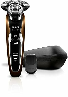New PHILIPS Shaver 9000 S9511 / 12 Wet Dry Rechargeable Electric Razor