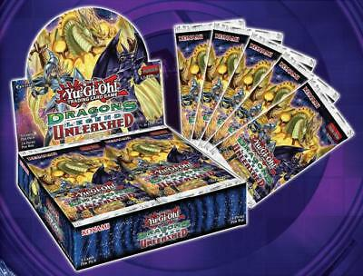 Yugioh Dragons Of Legend Unleashed 1St Edition Booster Box Drl3 Ygo