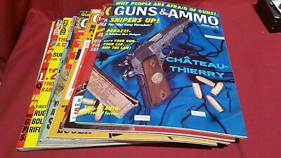 1968 Full Year GUNS & AMMO Magazine Smith Wesson Colt Winchester Ruger Nice! #91