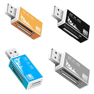 all in One USB Multi Memory Card Reader Kartenlesegerät für SDHC Micro SD