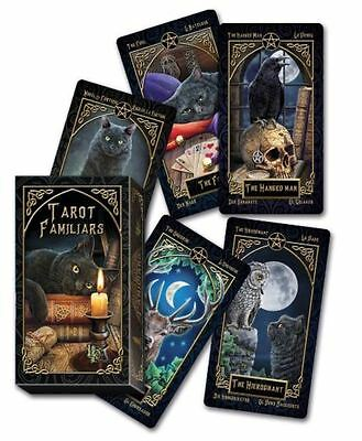Beautifully Designed Lisa Parker Illustrated Tarot Card Deck Pagan Wican Fortune