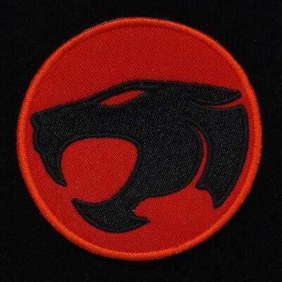 "2.3/4""x1P. THUNDERCATS SUPER HERO EMBROIDERED IRON ON SEW PATCH BADGE CAP"