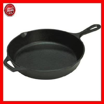 Lodge Seasoned 12 inch Cast Iron Skillet / Frying Pan with Handle, L10SK3-WH New