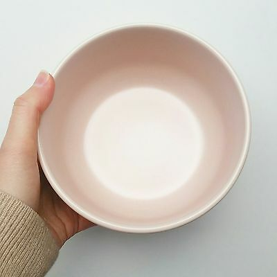 Country Road Pink Pastel Dusty Bowl Perfect for porridge! STONEWARE HAND GLAZED