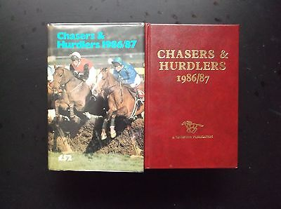 "Timeform ""chasers & Hurdlers"" 1986/87 In A Protected Original Dust Jacket"