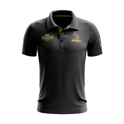 Melbourne Storm 2017 Premiers Polo Shirt Mens & Womens Sizes ISC NRL In Stock!!