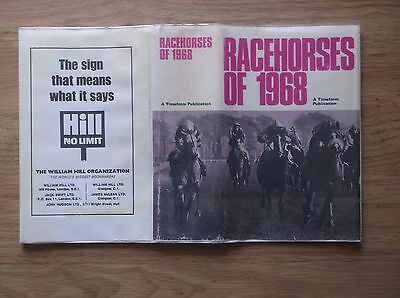 "Timeform Copy Protected Dust Jacket For ""racehorses Of 1968"""