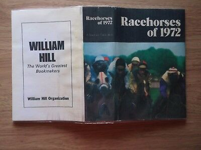 "Timeform Copy Dust Jacket For ""racehorses Of 1972"""