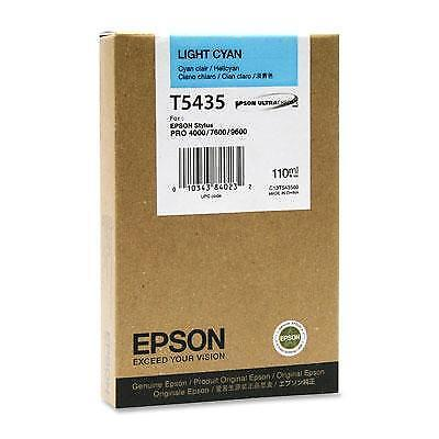 Epson T543500 3800 Pages Light Cyan Original Ink Cartridge