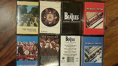 rare Beattles 10 cassettes collection