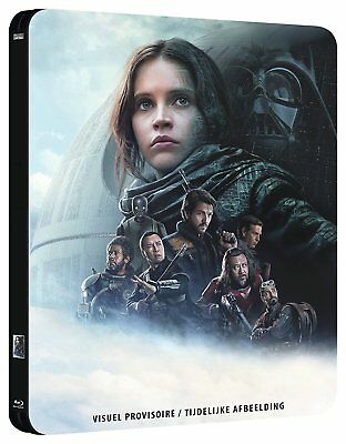 Blu-ray - Rogue One: A Star Wars Story [Steelbook Blu-ray 3D]