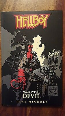 1997 hellboy wake the devil 1st edition by Mike Mignola