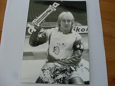 Speedway Photograph--Jan Andersson   (385)
