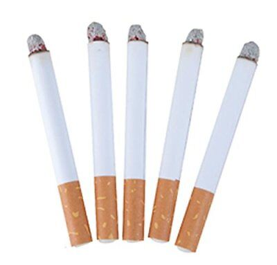 Fake Cigarettes Smoking Lit End Joke Prank Smoke Novelty Fags Theatrical Trick