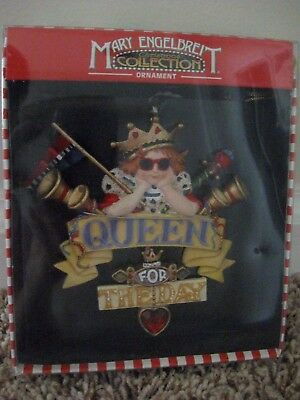 New Mary Engelbreit Ornament Christmas Collection Queen For The Day Santas World