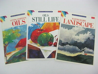 Walter Foster Artist's Workshop Books   3 Title  to choose   Brand New