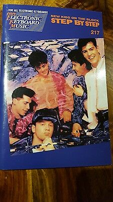 Rare easy electronic keyboard music - New kids on the block step by step (217)