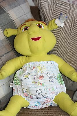 Handmade Diaper/nappy Cover Pants 12-24 Months(Unisex) Drawings