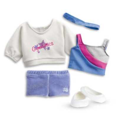 American Girl - 2 in 1 Gymnastics Practice Outfit for Dolls - Truly Me 2015