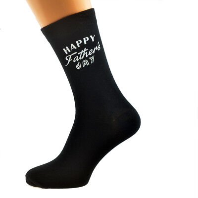 Happy Fathers Day Mens SOCKS Just for Daddy Dad Christmas Birthday Present GIFT