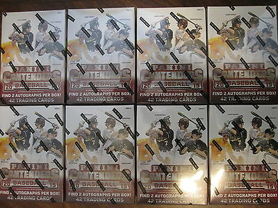 Factory Sealed 8 Box Lot - 2015 Panini Contenders Baseball Cards