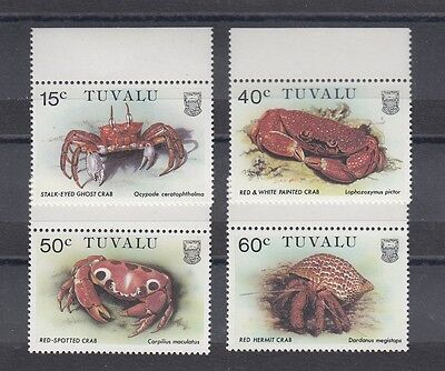 Timbre Stamp  4  Tuvalu Y&t#355-58 Faune Marine  Neuf**/mnh-Mint 1986 ~A39
