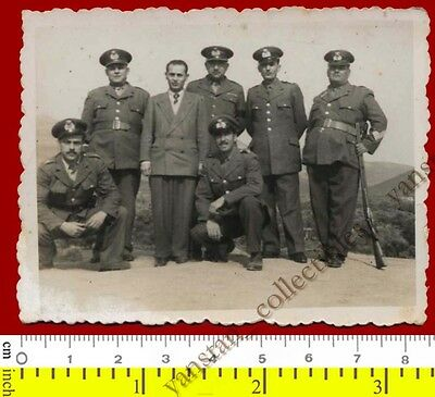 #25344 Greece 1940s. Officers. Photo.