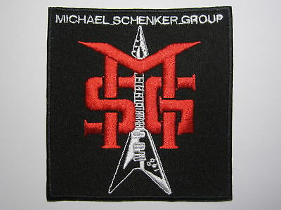 MSG Michael Schenker Group embroidered NEW patch