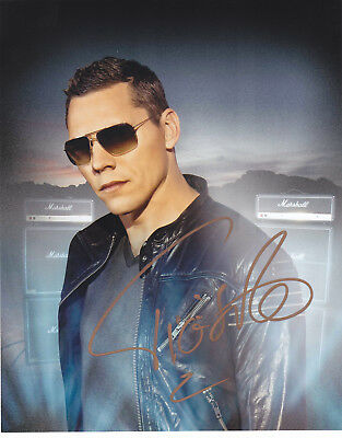 Tiesto Signed Autograph Edm Dance Trance   8X10 Photo  Exact Proof #5