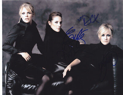Dixie Chicks  Signed Autographed Sexy Country Music 8X10 Photo #2