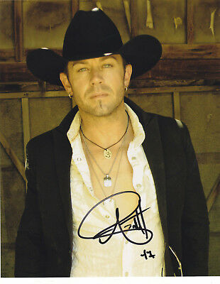 Aaron Pritchett Signed Autographed Country Music 8X10 Photo  Exact Proof