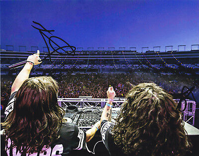 Dvbbs Alex Chris Van Den Hoef Signed Autographed Edm Electro 8X10 Photo Proof #4