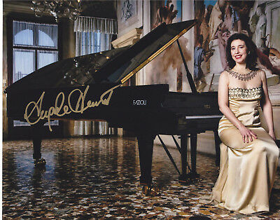 Angela Hewitt Signed Autographed Classical Bach Pianist 8X10 Photo Exact Proof 3