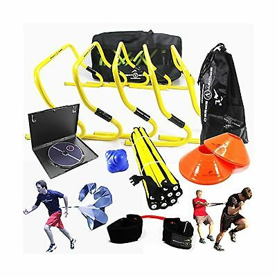 NEW TEAM SPEED AGILITY & QUICKNESS Training Kit with Instructional DVD   ... New