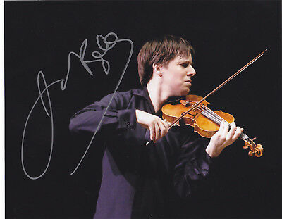 Joshua Bell  Signed Autographed  8X10 Photo Violinist Grammy  Exact Proof #3