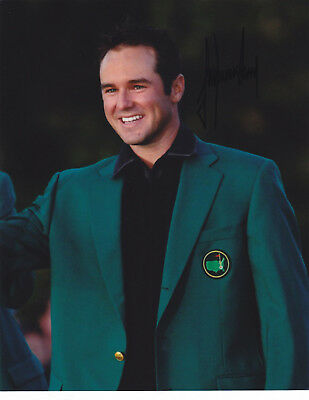 Trevor Immelman Signed Autograph Golf 2008 Masters Champ 8X10 Photo Exact Proof