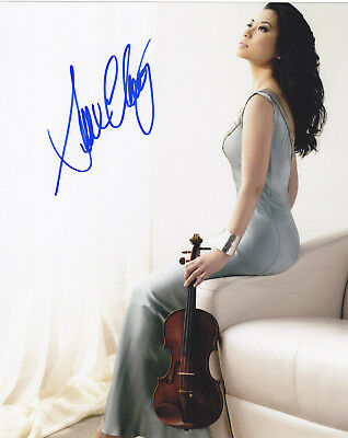 Sarah Chang Signed Autographed 8X10 Photo Violinist Violin Exact Proof