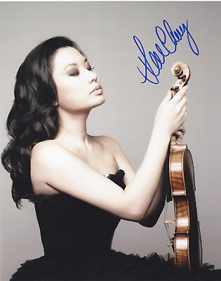 Sarah Chang Signed Autographed 8X10 Photo Violinist Violin Exact Proof #3