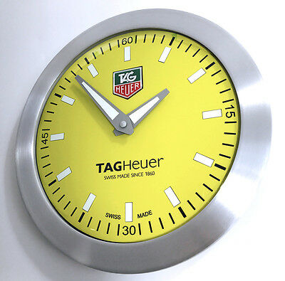 Tag Heuer F1 Watch Advertising Sellers Display Showroom Wall Clock