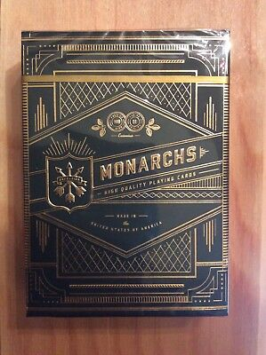 Green Monarchs Theory11 Playing Cards (RARE SEALED DECK)