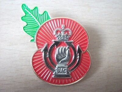 Royal Armoured Corps Poppy Badge Free Postage