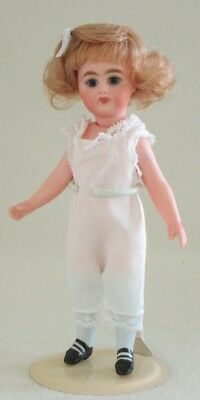 """Sweet 7.5"""" S&H 886 all Bisque Doll by Suzanne McBrayer"""