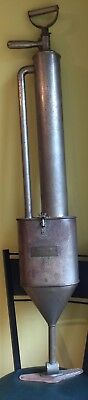 Antique Early 1900s The Wizard Vacuum Sweeper Wizard Mfg Co Madison WI Rare