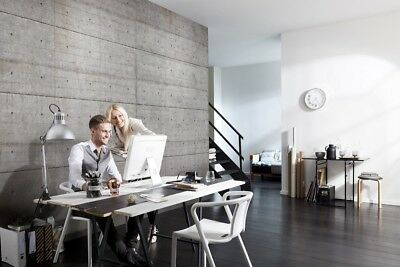Wallpaper Concrete Blocks photo wall mural Large size Wall Art grey for office